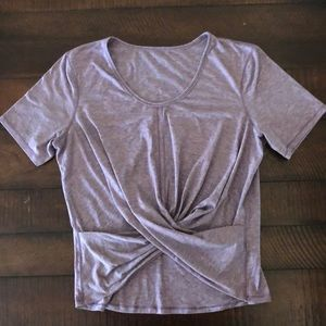 Lululemon Twist front Shirt